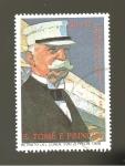 Stamps São Tomé and Príncipe -  830B