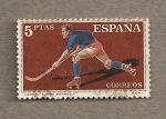 Stamps Spain -  Hockey sobre patines
