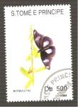 Sellos de Africa - Santo Tomé y Principe -  1100