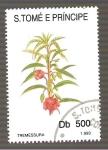 Sellos de Africa - Santo Tomé y Principe -  1108