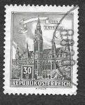 de Europa - Austria -  688 - Ayuntamiento de Viena