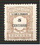 de Africa - Santo Tomé y Principe -  J46