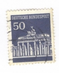 de Europa - Alemania -  Puerta de Brandenburgo
