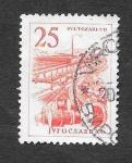 de Europa - Yugoslavia -  634 - Fabrica de Cables