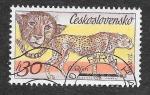 de Europa - Checoslovaquia -  2086 - Guepardo