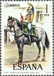 Sellos de Europa - España -  ESPAÑA 1976 2350 Sello Nuevo Serie Uniformes Militares Trompeta de Alcantara de Linea