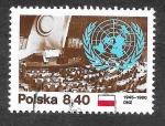 Sellos de Europa - Polonia -  2417 - XXXV Aniversario de las Naciones Unidas (ONU)