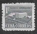 Sellos de America - Cuba -  RA16 - Palacio de Comunicaciones
