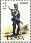 Stamps Spain -  ESPAÑA 1976 2352 Sello Nuevo Serie Uniformes Militares Zapador de Ingenieros de Gala