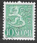 Stamps Finland -  316 - León