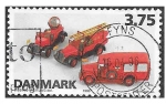 Stamps : Europe : Denmark :  1037 - Juguetes