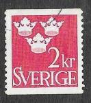 Stamps Sweden -  441 - Tres Coronas