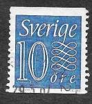 Sellos de Europa - Suecia -  504 - Número