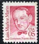 Sellos de America - Estados Unidos -  Luis Muñoz Marin