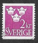Sellos de Europa - Suecia -  659 - Tres Coronas