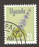 Sellos de Africa - Uganda -  118