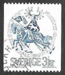 Sellos de Europa - Suecia -  753 - Sello del Duque Erik Magnusson