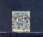 Sellos del Mundo : Europa : Hungría : Hungría año 1898 - Carta y Corona Real 10 k azul