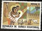 Sellos de Africa - Guinea Ecuatorial -  Navidad 1983