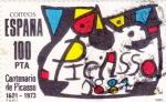 Stamps Spain -  CENTENARIO DE PICASSO (41)