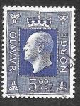 Sellos de Europa - Noruega -  540 - Olav V de Noruega