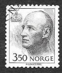 Stamps Norway -  1008 - Harald V Rey de Noruega