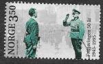 Sellos de Europa - Noruega -  1096 - L Aniversario del Fin de la II Guerra Mundial
