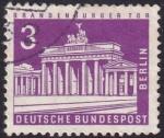Stamps : Europe : Germany :  Brandenburger Tor
