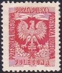 Stamps Poland -  águila con X romana