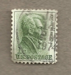 Stamps United States -  Andrew Jacson