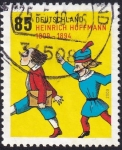 Stamps : Europe : Germany :  Heinrich Hoffmann
