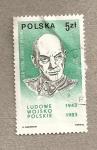 Stamps Poland -  General Zygmund Berling, Ejercito del pueblo