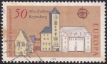 Stamps Germany -  Rathaus Regensburg
