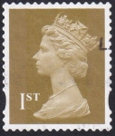 Stamps United Kingdom -  Queen E 1st