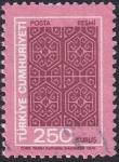 sello : Asia : Turquía : formas geométricas