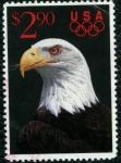 Stamps America - United States -  Aguila Calva Olimpiada