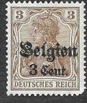 Sellos de Europa - Bélgica -  N11 - Germania