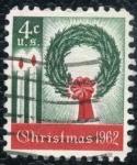Sellos de America - Estados Unidos -  Navidad '62