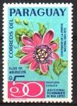 Sellos de America - Paraguay -  FLOR  DE  MBURUCUYÁ