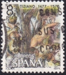 Stamps : Europe : Spain :  Tiziano II