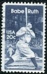 Sellos del Mundo : America : Estados_Unidos :  Babe Ruth