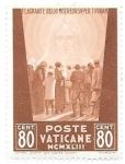 Sellos de Europa - Vaticano -  aniversarios