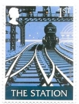 Sellos del Mundo : Europa : Reino_Unido :  ferrocarril