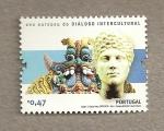 Sellos de Europa - Portugal -  Año europeo de dialogo intercultural