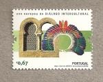 Stamps Portugal -  Año europeo de dialogo intercultural