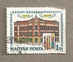 Sellos de Europa - Hungría -  200 Aniv. de la escuela de Artes y Artesanía