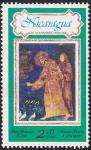 Stamps : America : Nicaragua :  San Francisco de Asis
