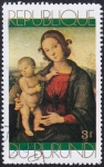 Stamps Burundi -  Madonna & Child I