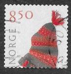 sello : Europa : Noruega : 1307 - Gorro de Punto