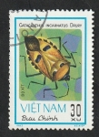 Stamps Vietnam -  366 - Insecto